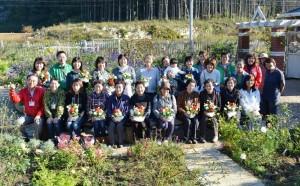 2014年10月26日フラワーアレンジ・兵庫園芸学校 034