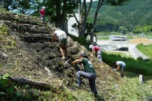2015年7月26日千賀子さん花壇造り 022