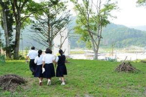 2015年8月3日神戸市立飛松中学校 004