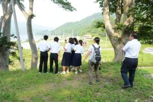 2015年8月3日神戸市立飛松中学校 008