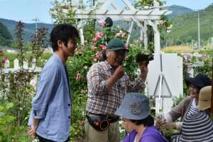 2016年6月17日ガーデン三上さん 083